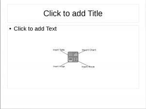 Default New Slide labeled