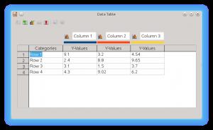 LibreOffice Impress Chart Data