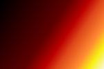 GIMP Gradient with a diagonal line