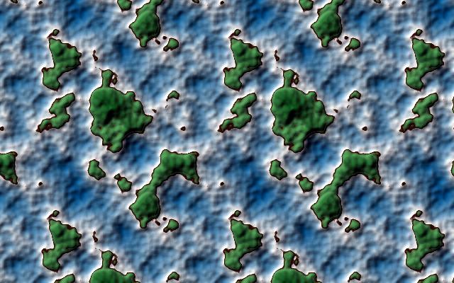 GIMP Topographic Oceans tiled