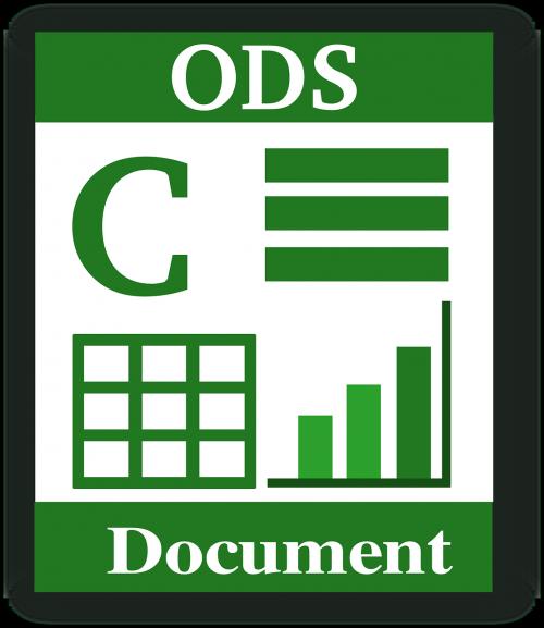 ODS Document image from https://www.needpix.com/photo/96030/file-type-ods-spreadsheet-open-document-spreadsheet-file-open-office